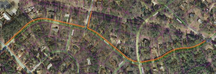 Lorimer Road w:Sidewalk.jpg