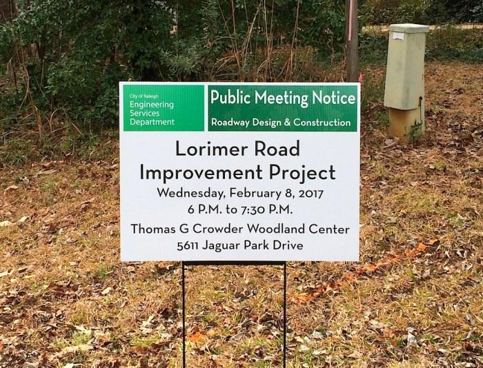 Lorimer Road sign.jpg